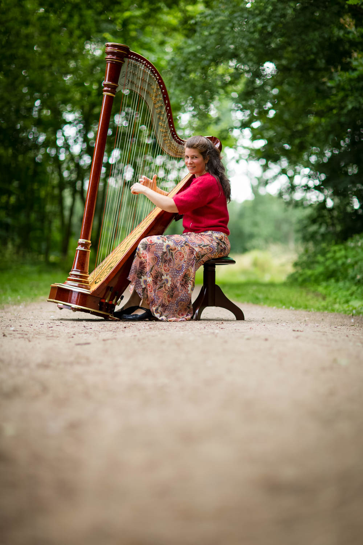 Anja Goossenaerts Harpiste
