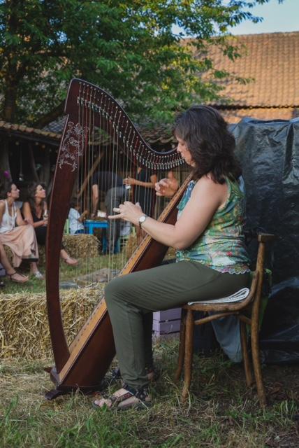 Harpmuziek Anja Goossenaerts